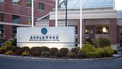 Exterior of Englewood Hospital photographed on on November