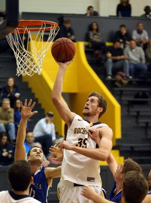 McQuaid grad Zack Ayers averages 11.7 points and 5.5 rebounds per game.