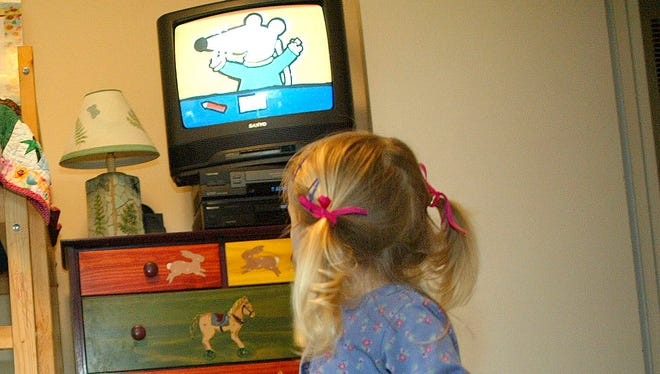 The American Academy of Pediatrics recommends no screen time for kids before age 2.