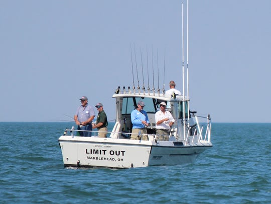 This charter boat, Limit Out, captained by Pat Winke