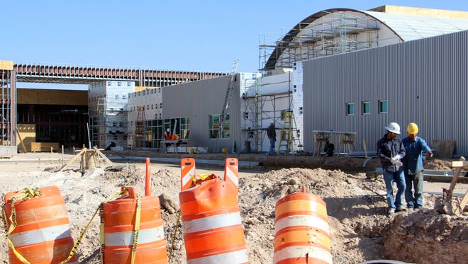 Desert Willow Elementary should be ready by the 2016-2017 school year.