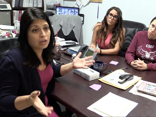 Cindy Lopez, the principal of the K-8 Charter School