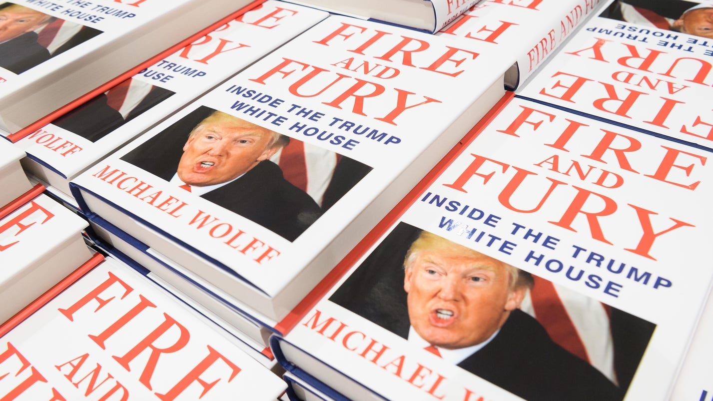 'Fire and Fury' sales top 29K in first weekend