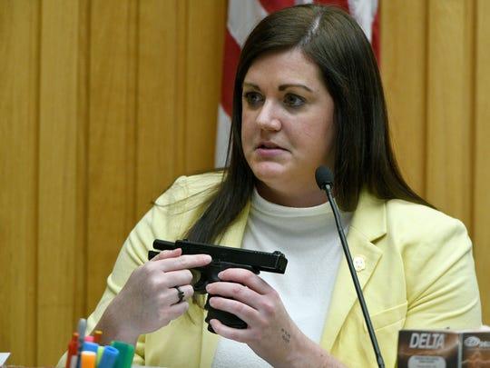 TBI firearms technician Jessica Hudson explains reason