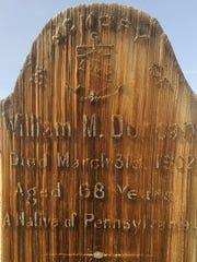 Marker #233, Dayton Cemetery