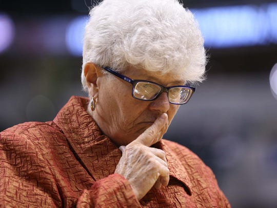 Former Indiana Fever coach Lin Dunn is concerned with the prospect of someone found guilty of sexual harassment in the past working with women in the WNBA.