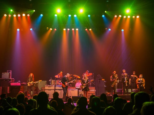 The Tedeschi Trucks Band performs Saturday at the Riverside Theater.