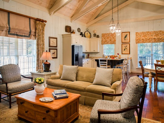Cottages at Barnsley Resort offer a blend of modern