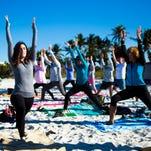 Photos: Donation Yoga Naples at Lowdermilk Park