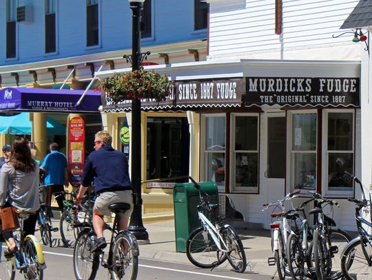 Murdick's was the first fudge shop on Mackinac Island