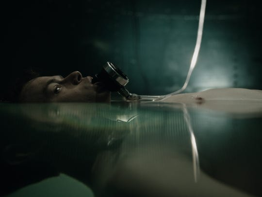 The actor gets tanked in 'A Cure for Wellness.'