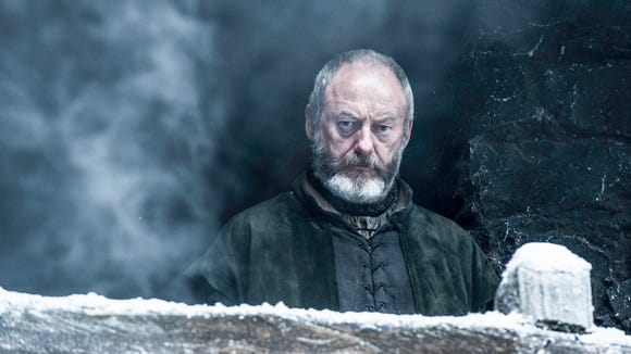 Ser Davos Seaworth is back. And he's still in Jon Snow's