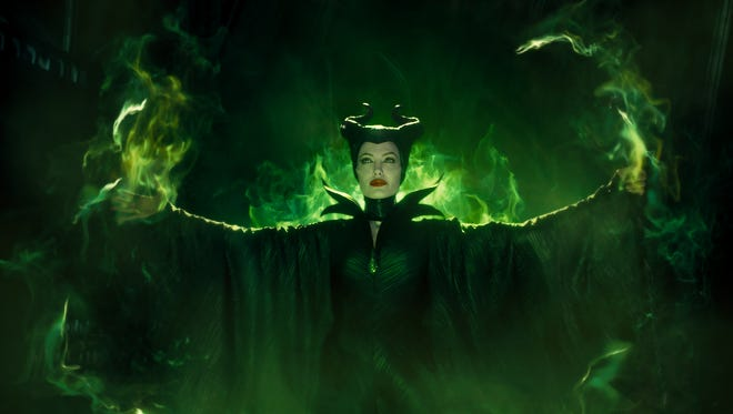 """Angelina Jolie as the title character in """"Maleficent."""""""