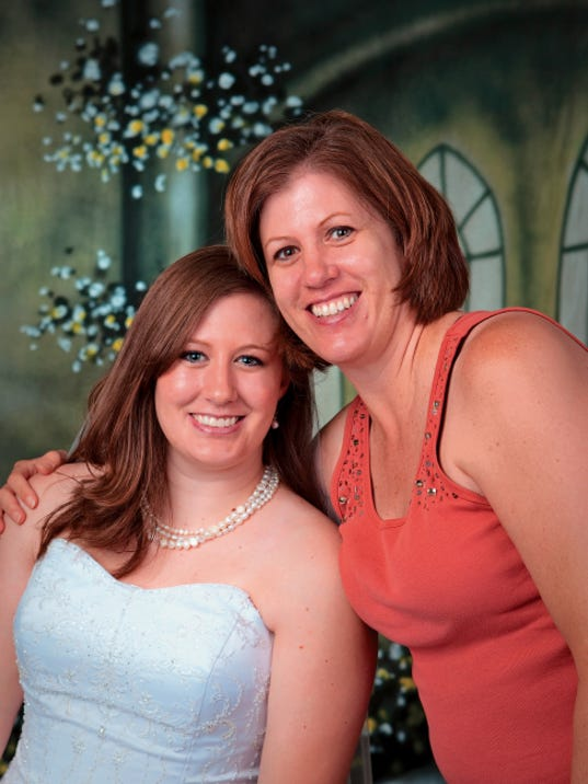 Jackie Becker and her mother, Debra Snow, have both been diagnosed with multiple sclerosis. They will be walking Saturday with Team Becker.