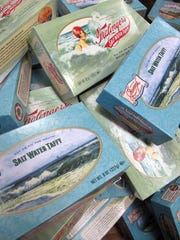 Saltwater taffy was created by accident in Atlantic City.