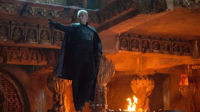 "Ian McKellen stars as Erik Lensher in ""X-Men: Days of Future Past."""