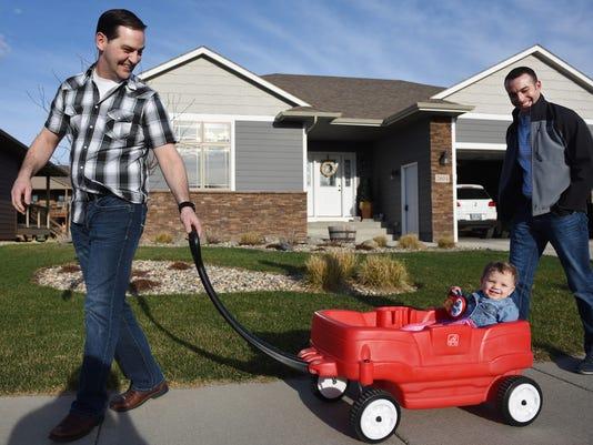 Same-sex couple adoption