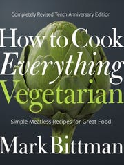 Mark Bittman's vegetarian tome was the first featured