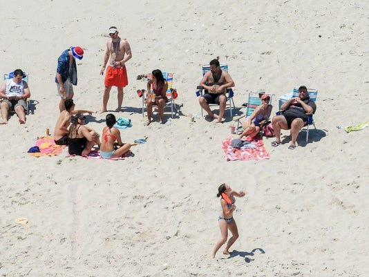 Christie on Beach