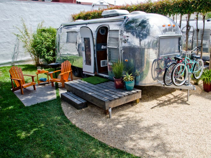 AutoCamp in Santa Barbara, Calif., offers guests a