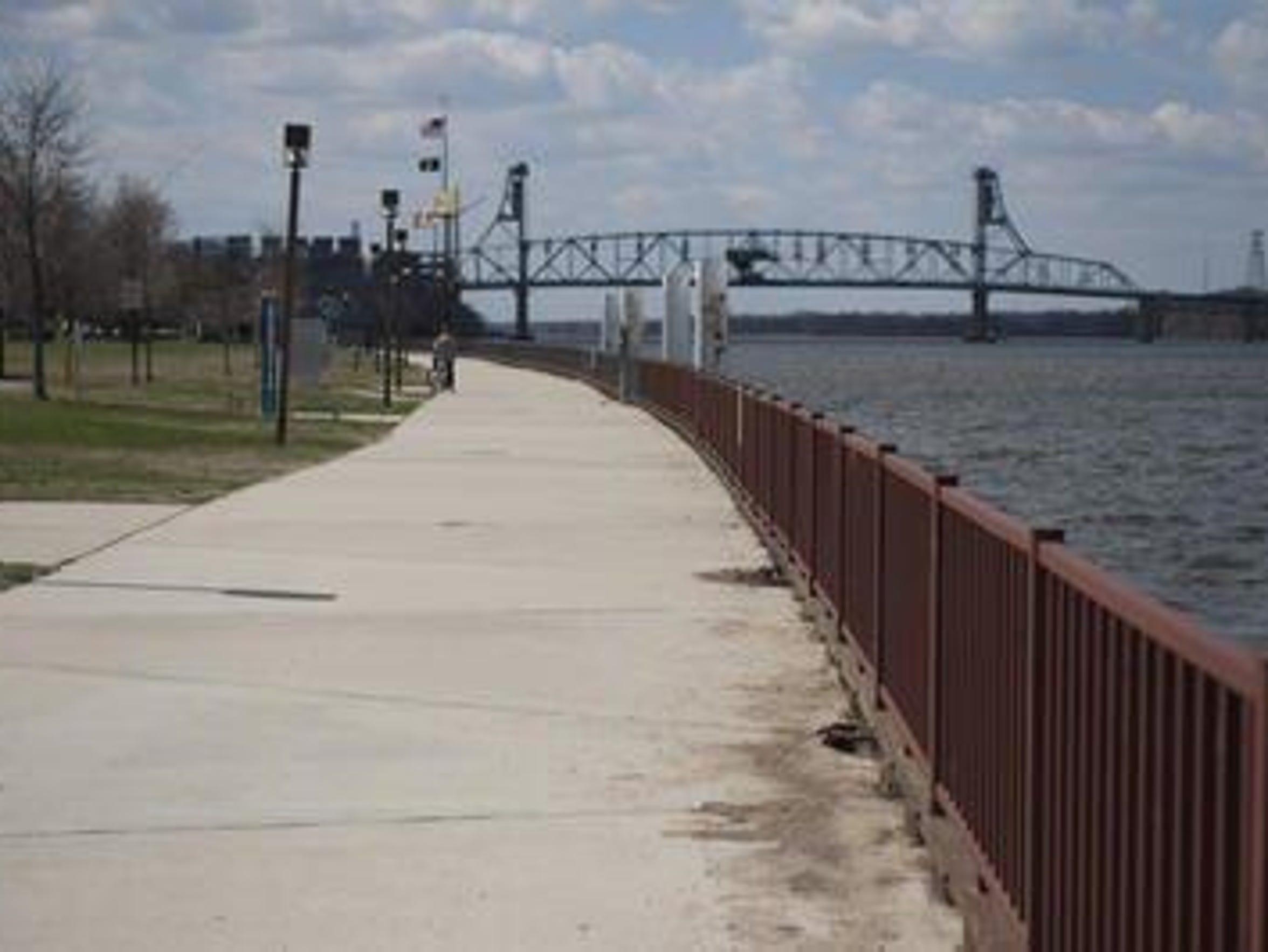 The Burlington City Promenade.