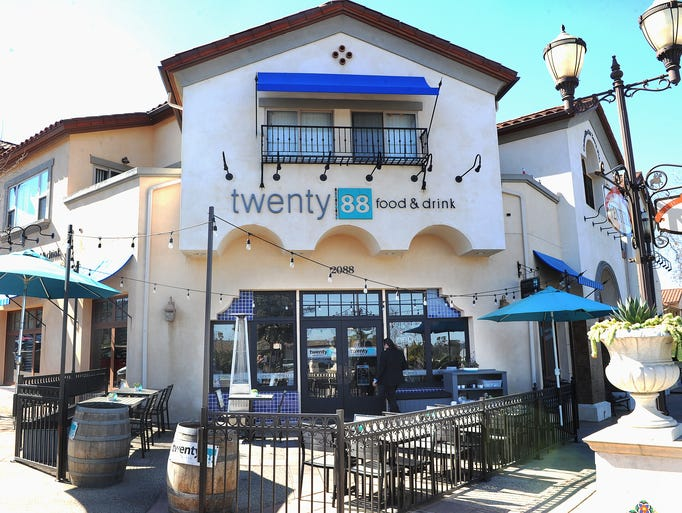 The exterior of Twenty88 in Camarillo features an outside