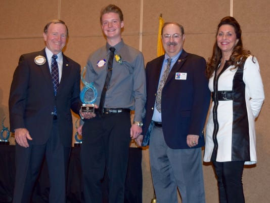 RHS senior wins service award