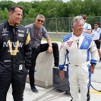 Kohler takes lap with Mario Andretti