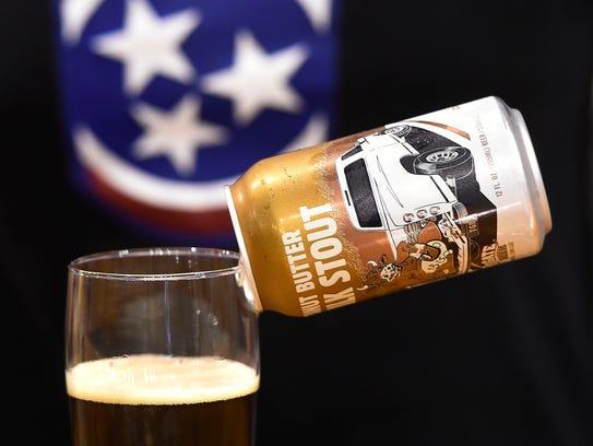 Wesley Keegan, owner of Tailgate Beer in West Nashville