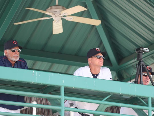 Different coaches and staff come out to watch the minor league players. Minor league camp can beat big-league camp from a fan's perspective. You can get up close to future big league players and all the action. Many spectators become friends and get an inside scoop to the future team.