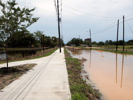 Government Street Flooding