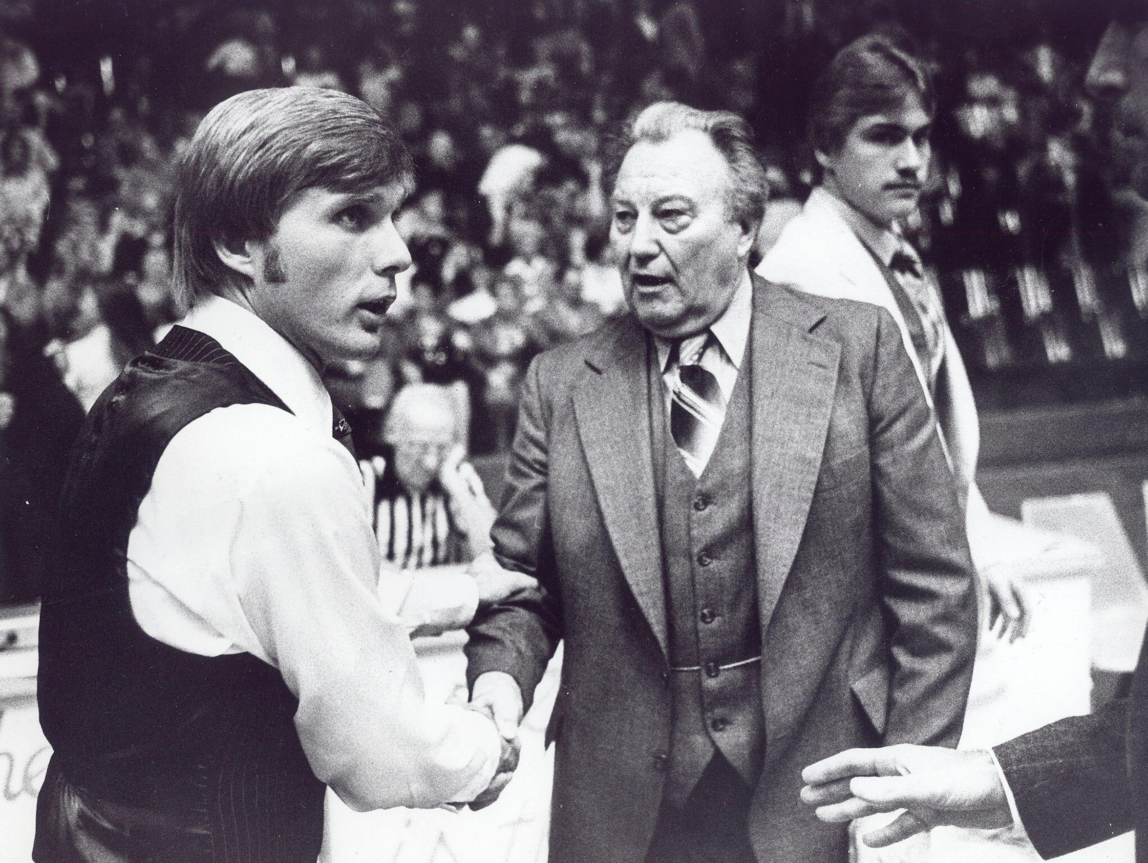 University of Evansville 1978-79 head coach Dick Walters