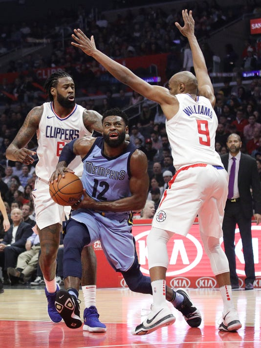 DeAndre Jordan, C.J. Williams, Tyreke Evans