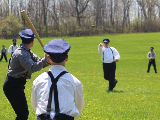 A historic baseball game will take place at Wade House in Greenbush on July 15.