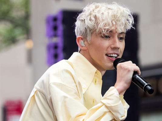 AP TROYE SIVAN PERFORMS ON NBC'S TODAY SHOW A ENT USA NY