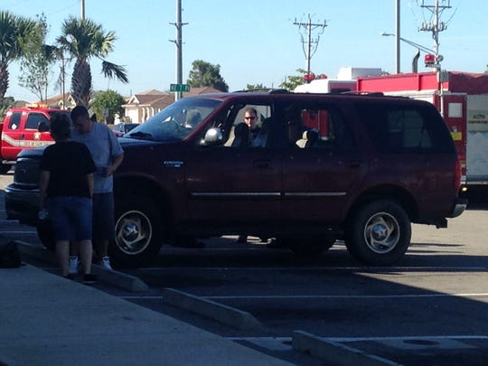 Cape Coral police are investigating after an SUV was shot at in the parking lot of a Dollar General