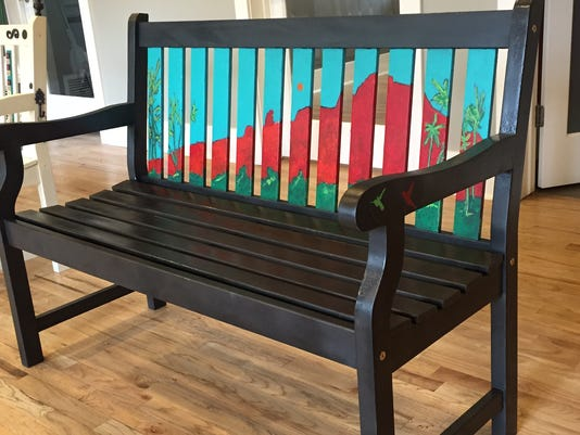 'Good Neighbor Bench'