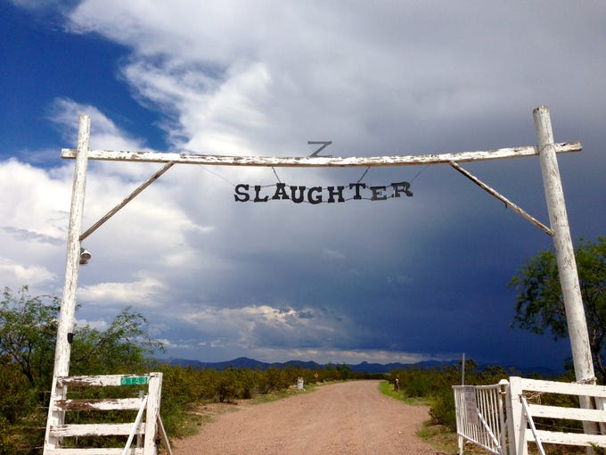 The Slaughter Ranch is located 15 miles east of Douglas.