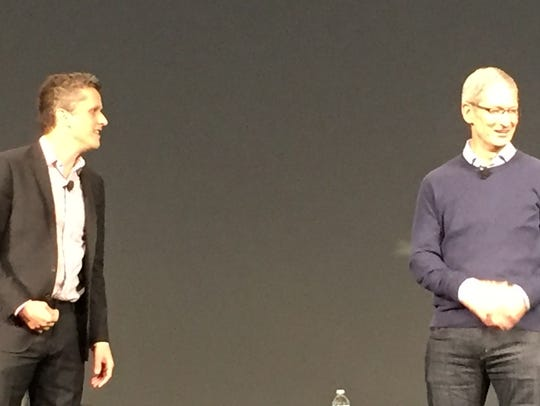 Levie, Cook at fireside chat