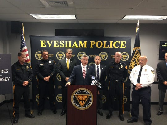 Evesham Mayor Randy Brown talks about the extension of the Evesham Saving Lives program.