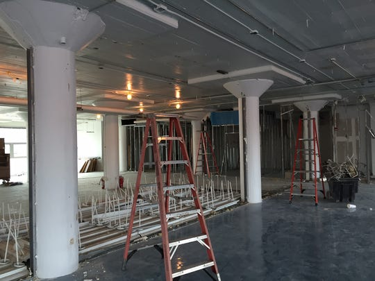 Remodeling is underway on space at 1101 McGavock St., which Google is expected to occupy.