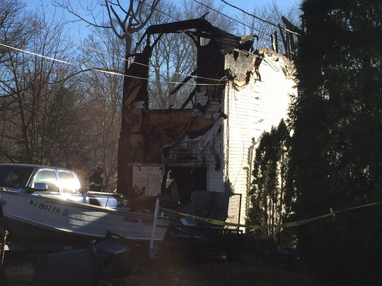 A home at 121 White Meadow Lake was destroyed by an