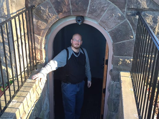 Andrew Yake, program coordinator for Our Promise, a drop-in center for the homeless in the basement of the First Baptist Church in Morristown.