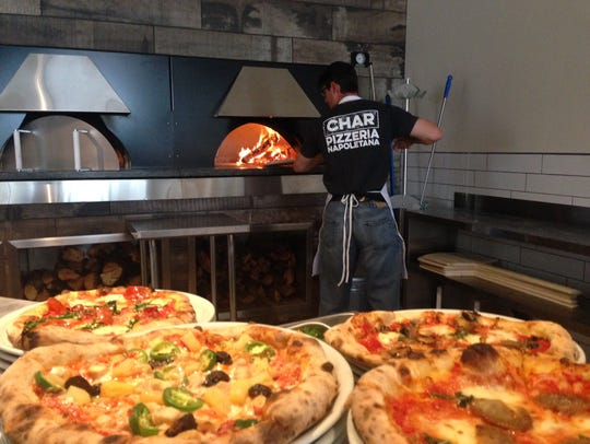 Char Pizzeria Napoletana in Peoria features made-to-order,