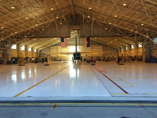 International Air Response hangar - Mesa