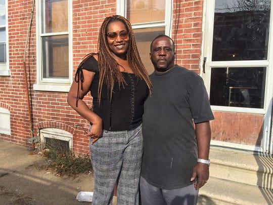 Dalila Newman and her husband, Ray Jones, helped raise Newman's brother, Angelo Blackson.