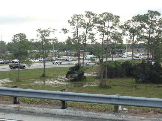 A crash on Daniels Parkway this morning has caused a logjam on several roads in the region today.