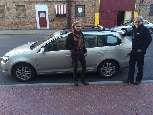 VW protest road trip