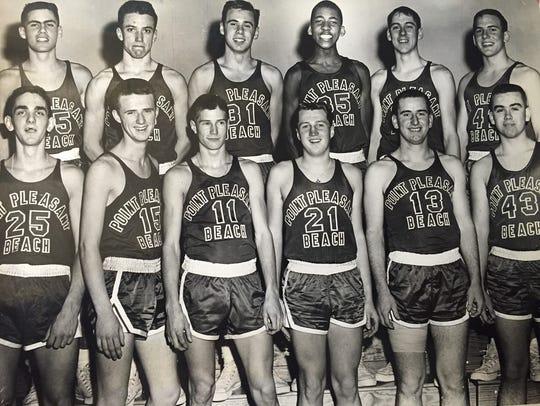 Point Beach's Ron Krayl (11), shown in a 1963 team