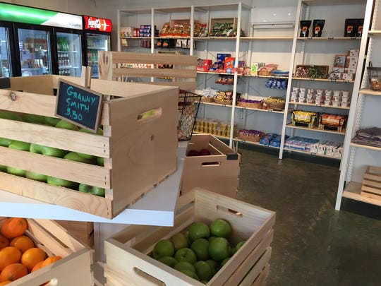 Mill Village Market offers a range of local and regional products from produce to eggs and cheese.